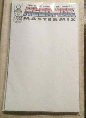 Mega Man Mastermix #1 Cover C Blank Variant