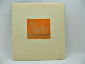 Briefpapier - Original - um 1960 - Zenobia - Ø ca. 20,5 x 19 cm