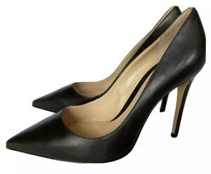 M. Gemi The Esatto Stiletto Pumps Women's 7 US 37.5 EU Black Heels New Italy