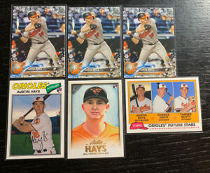 Austin-Hays-RC-Lot-6-2018-Topps-Baltimore-Orioles