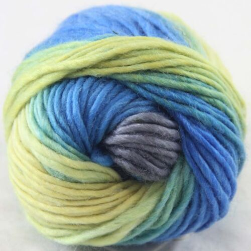 SALE 1ballx50g NEW Chunky Colorful Hand Knitting Wool Yarn Grey Sky Blue Yellow