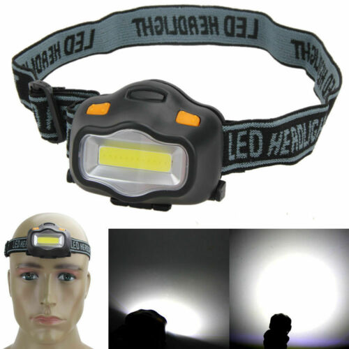 Portable Headlight Torch Headlamp Torch Lighting Battery Operated Camping Kit