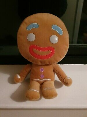 30CM Shrek Adventure Gingerbread Man Gingy Plush Toy Stuffed Animal Doll Xmas