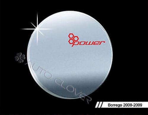 Chrome Fuel Gas Cap Cov Emblem For 2008 2010 Kia Borrego Mohave