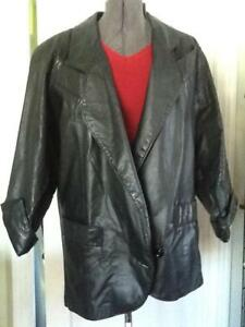 Global en G et américain noir noir Manteau imprimé cuir Iii cuir Identity à léopard F5rx6qYr