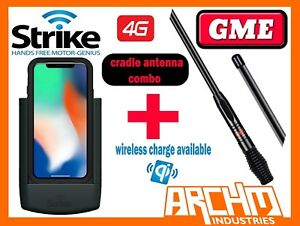 best service 82d71 ddc98 Details about APPLE IPHONE X STRIKE CRADLE PRO WIRELESS CHARGE LIFEPROOF  CASE GME 7DBI ANTENNA