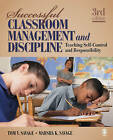 Successful Classroom Management and Discipline: Teaching Self-control and Responsibility by Tom V. Savage, Marsha K. Savage (Paperback, 2009)