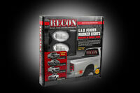 Recon Clear Led Dually Fender Lights Ford 1999-2010 264132cl