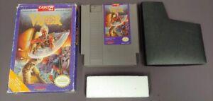 Code Name Viper -  NES Nintendo Game Original BOX Dust Cover + Foam Brick