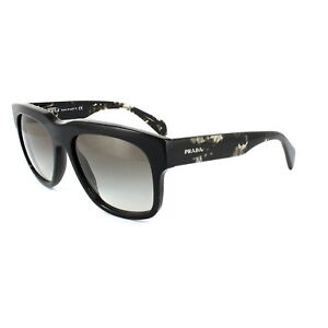 ea56d1b8070 Image is loading Prada-Sunglasses-14QS-1AB0A7-Black-Grey-Gradient