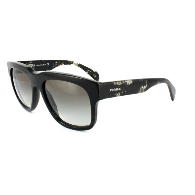 21368898f3b PRADA Sunglasses Men Spr 14 Q Black 1 AB 0 a 7 Cast 55 Mm for sale ...