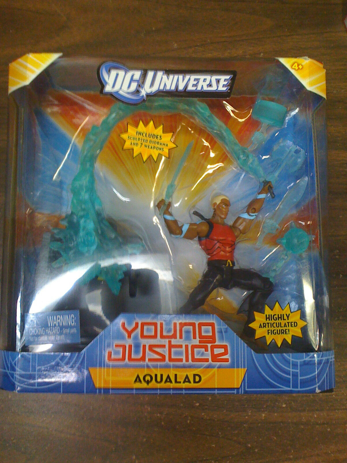 DC Universe Young Justice Highly Articulated Aqualad Figure NEW FREE SHIP US