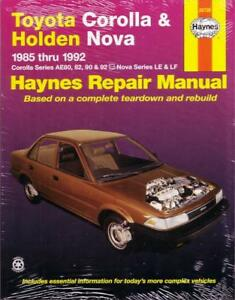 1992 toyota corolla car manual browse manual guides u2022 rh npiplus co Toyota Corolla 1990 Manual Online 1990 Toyota Corolla ManualDownload
