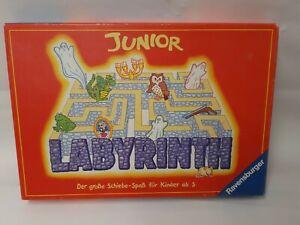 Junior-laberinto-Max-J-kobbert-Ravensburger-ano-1995-100-completo