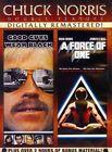 Chuck Norris Good Guys Wear Black & Force of One 2014 Region 1 DVD