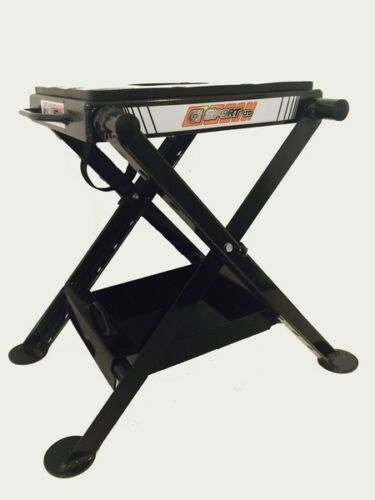 ALLOY FOLDING STAND INCLUDES TRAY /& JUG CiSport for MX Motorcross Dirt Bike