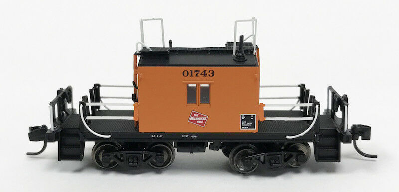 Ho-Milwaukee Road furgón de cola transferencia con logotipo y Negro Números Fox Valley Models
