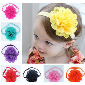 Lovely-Baby-Girl-039-s-Headband-Toddler-Lace-Bow-Flower-Hair-Band-Accessories-Kit