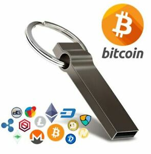 Creating a wallet for cryptocurrency usb