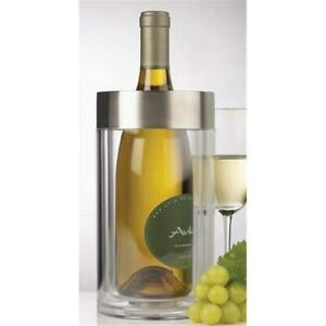 Prodyne Acrylic Steel Wine Cooler Iceless Thick Exterior A901 22494019016 Ebay