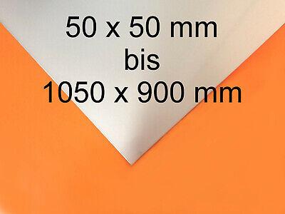 Edelstahlblech K240 1,5 mm Größe Maße Zuschnitt Länge Breite Abmessung wählbar