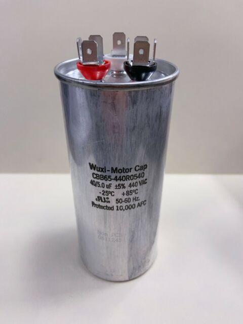 //-10/% 370 Vac 2sp Motor Capacitor 50//60 Hz Wuxi CBB65-370V106-M5 10 uF