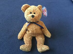 3f0e85056be Rare Ty Fuzz Beanie Babies Date Tag Errors And Dual Tush Tags