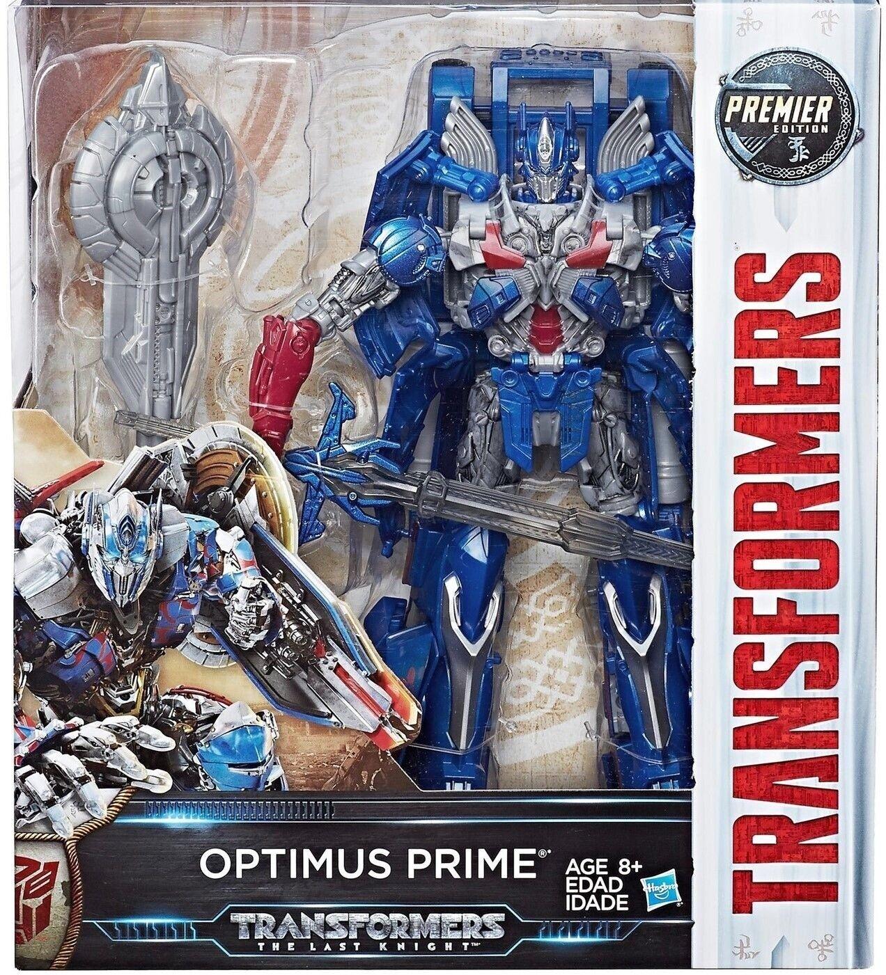 Hasbro Transformer Last Knight OPTIMUS PRIME Premier Edition Leader Class Figure