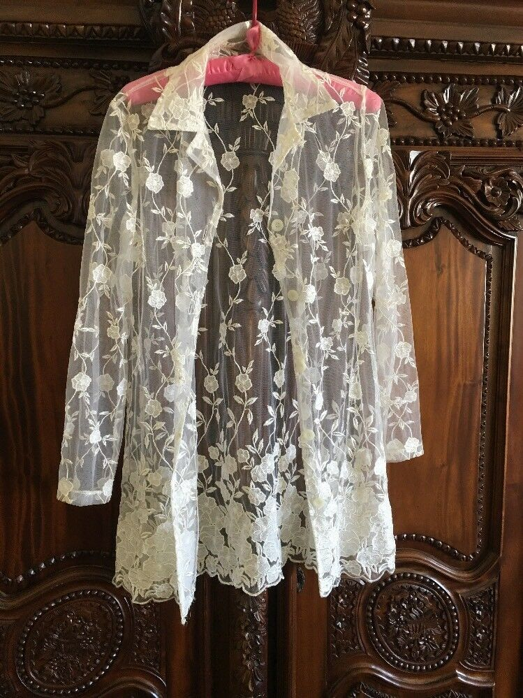 France Made Lace Coat