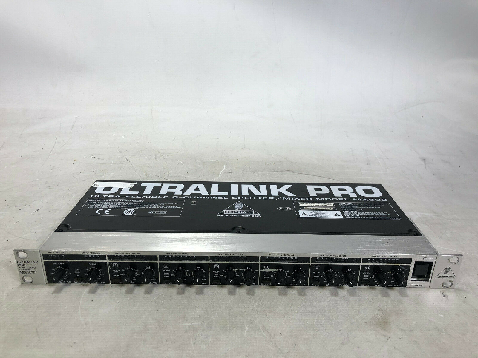 Behringer Ultralink Pro MX882 Ultra-Flexible 8-Channel Splitter Mixer