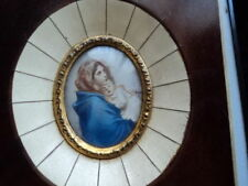Antique Hand painted on celluloid with frame (Fil)