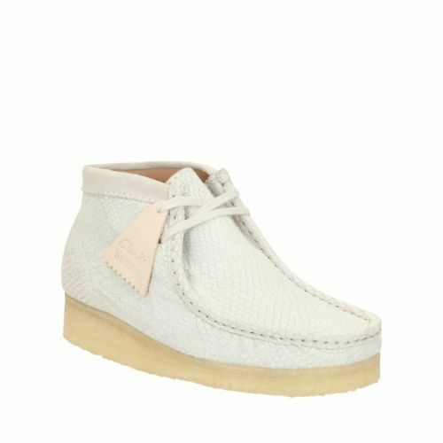 Clarks Originals Womens * Wallabee Boot Off White Hexa Unisex * D