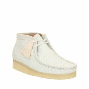 10635ccb652 Details about Clarks Originals Womens * Wallabee Boot Off White Hexa Unisex  * UK 4,5,6,8 D