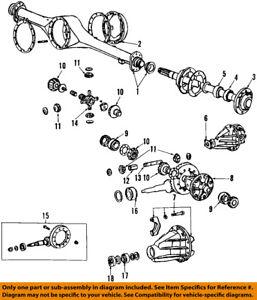 toyota oem 84 95 pickup rear axle seals 9031050006 7262318385856 ebay