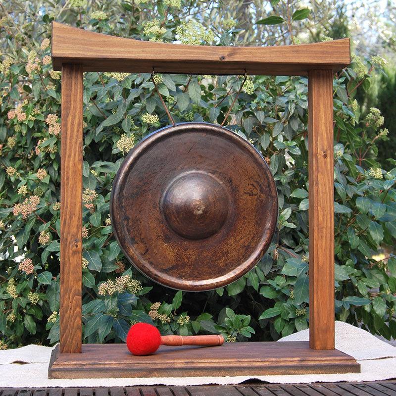 Gong de 35cm con Marco de Madera