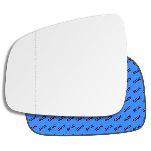 Links Asphärisch Fahrerseite Spiegelglas für Dacia Duster 2014-2018
