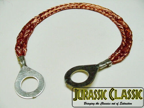 "1967-1987 Ford 8/"" Ground Wire Strap Strip Bonding Ring 10 Gauge AWG 5//16-3//8 Nos"