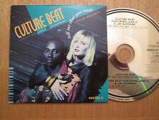 RARE - Culture Beat – Tell Me That You Wait - UK Maxi CD Single  1991