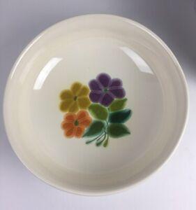 """Franciscan Ware """"Floral"""" pattern, Round Serving Bowl 1970's Vintage 1 ea"""