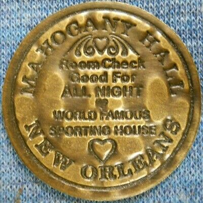 CHICKEN RANCH Legal  Nevada Brothel Copper Metal Cathouse Whore House TOKEN