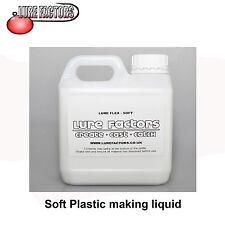 1Ltr SOFT GRADE LIQUID SOFT PLASTIC PLASTISOL FOR MAKING  SOFT BAIT  LURES