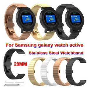 Stainless-Steel-20mm-Strap-Watch-Band-For-Samsung-Galaxy-Watch-Active-42mm