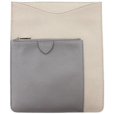 Marc Jacobs 6165 Ivory Leather Colorblock iPad Sleeve BHFO