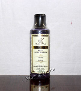 Begeistert Khadi Lavender & Ylang Ylang Massage Oil Relaxing Mind & Body 210ml AusgewäHltes Material Massage