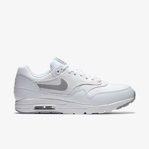 Details about NIKE W AIR MAX 1 ULTRA ESSENTIALS 704993 102 WHITEWOLF GREY PURE PLATINUM SILVR