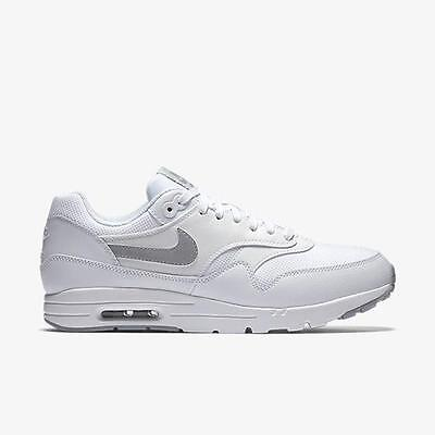 NIKE W AIR MAX 1 ULTRA ESSENTIALS 704993 102 WHITEWOLF GREY PURE PLATINUM SILVR | eBay
