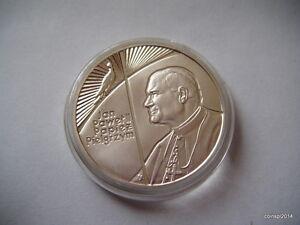 1999 10zl. John Paul II, the Pilgrim Proof Silver - Zgierz, Polska - 1999 10zl. John Paul II, the Pilgrim Proof Silver - Zgierz, Polska