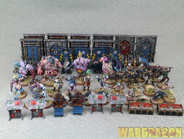 Warhammer 40K Wds pintado equipo  j26 Rogue Trader matar