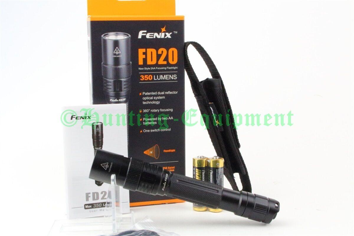 Fenix FD20 Cree XP-G2 S3 LED Taschenlampe Holster inkl. Batterien NEUWARE