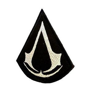 Assassin's Creed embroidered badge tactical morale PS PS3 tag hook patch